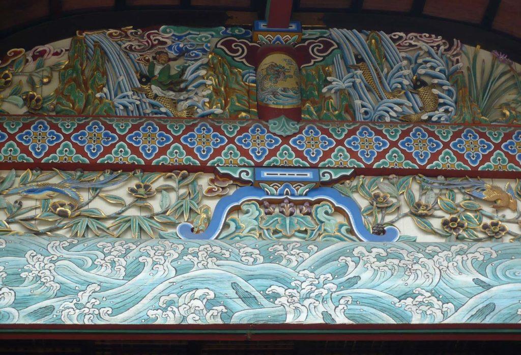 御香宮神社 拝殿