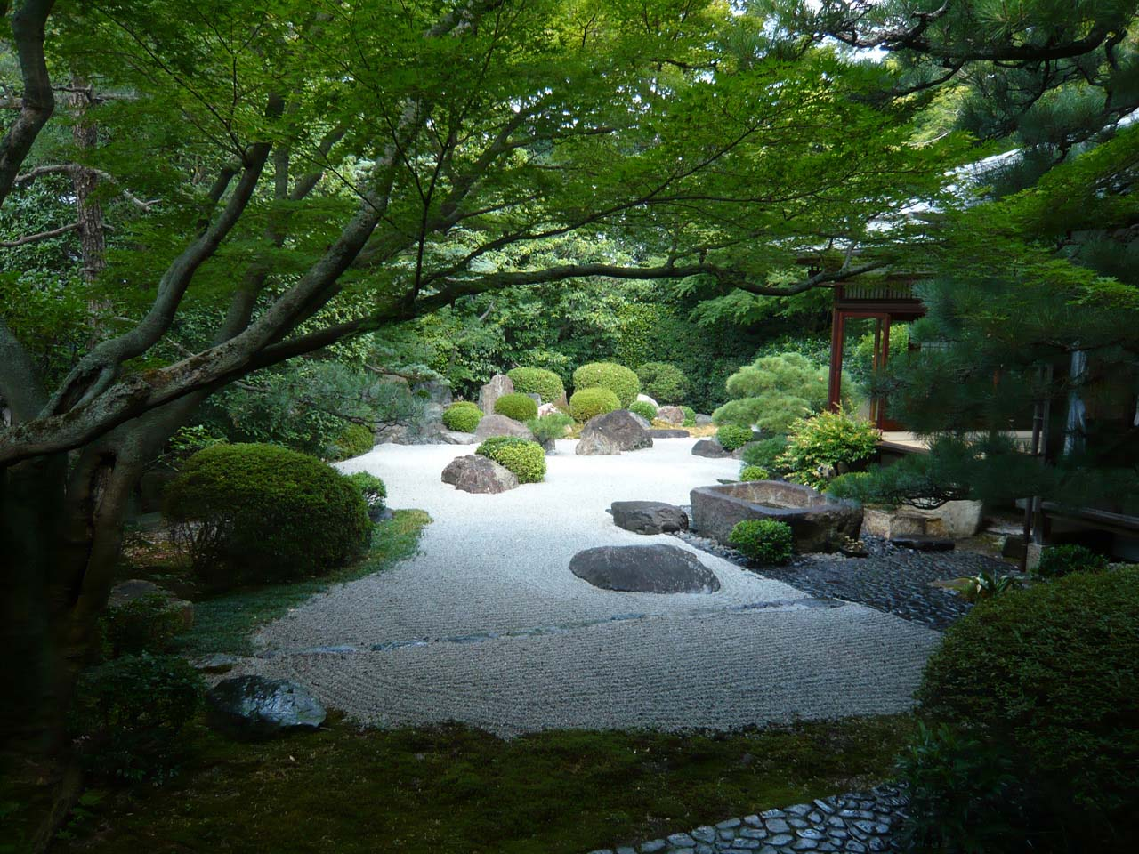 御香宮神社 小堀遠州ゆかりの庭園