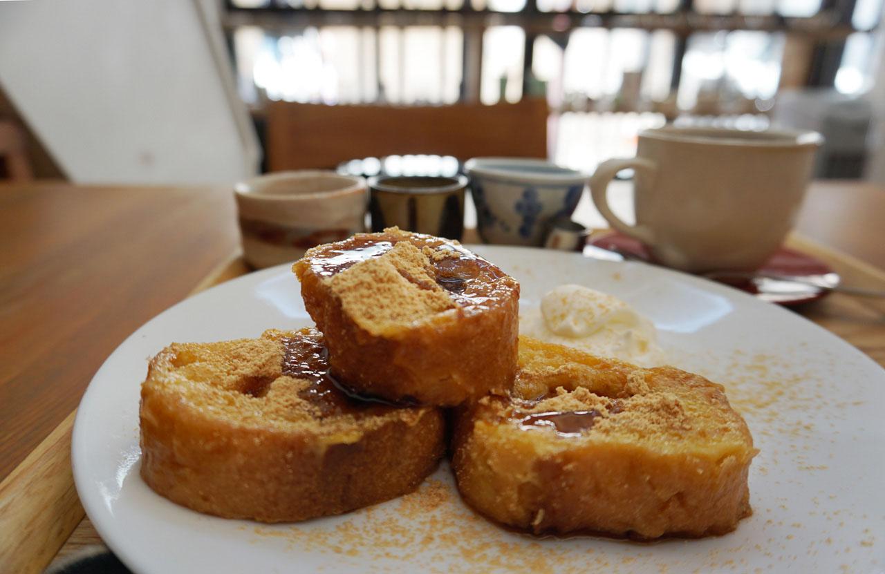黒糖のフレンチトースト