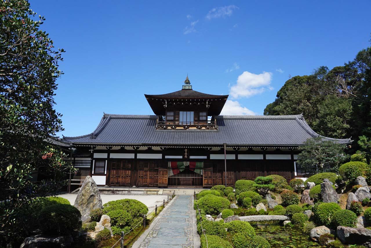 東福寺 常楽庵開山堂