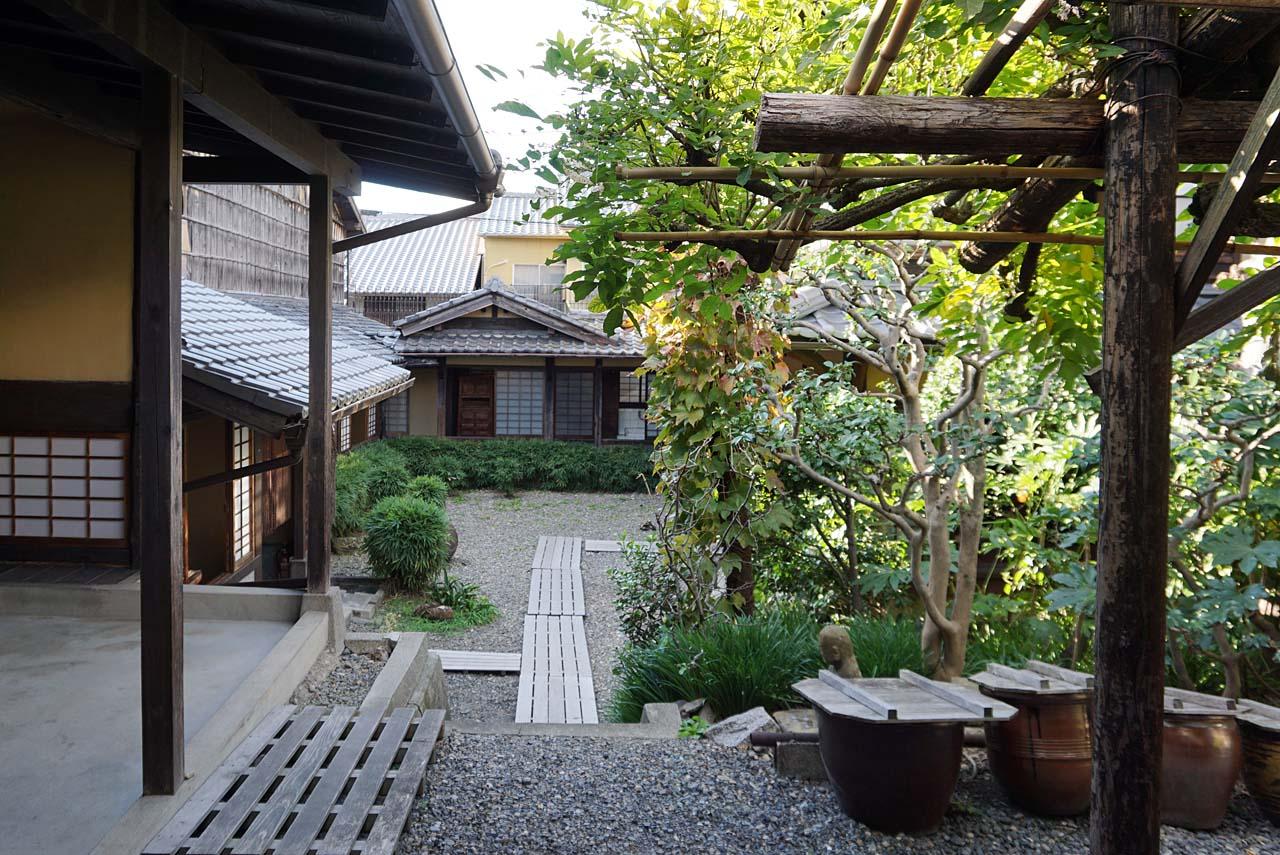 河井寛次郎記念館 中庭