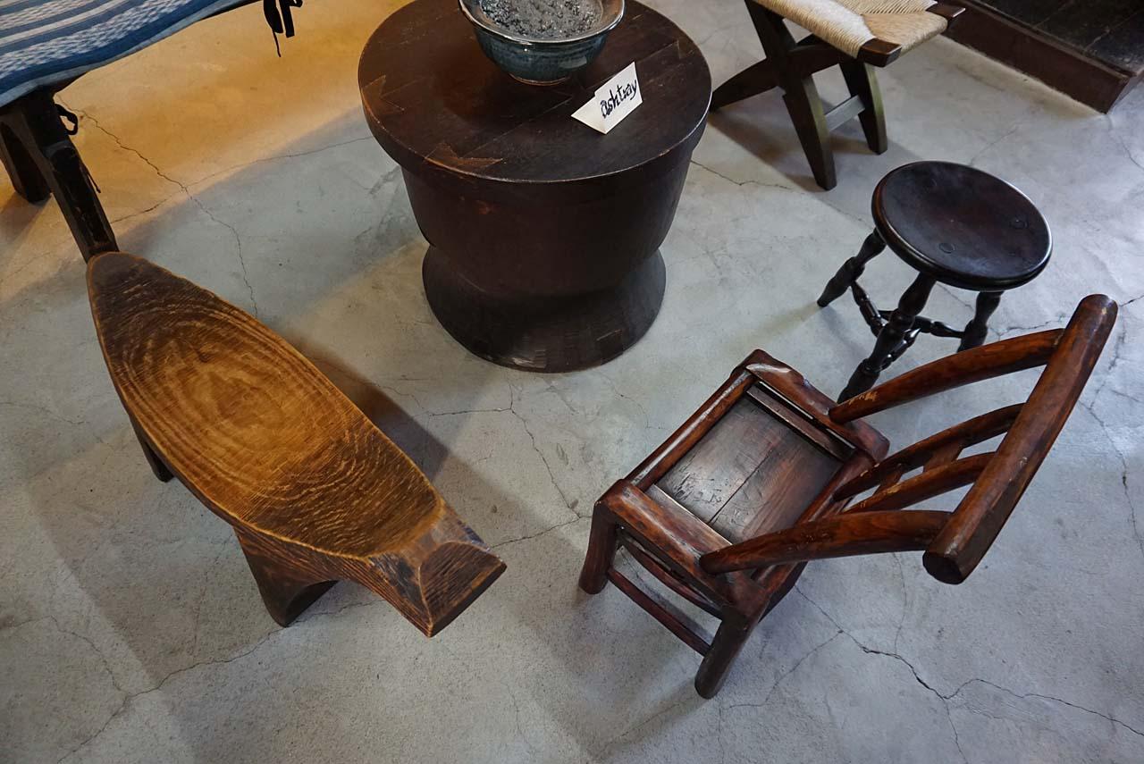 河井寛次郎記念館 椅子たち