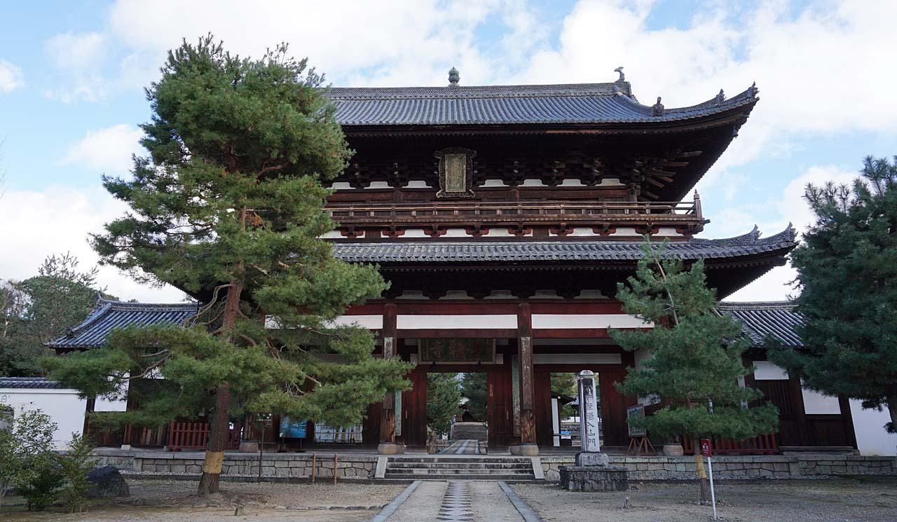 萬福寺 三門