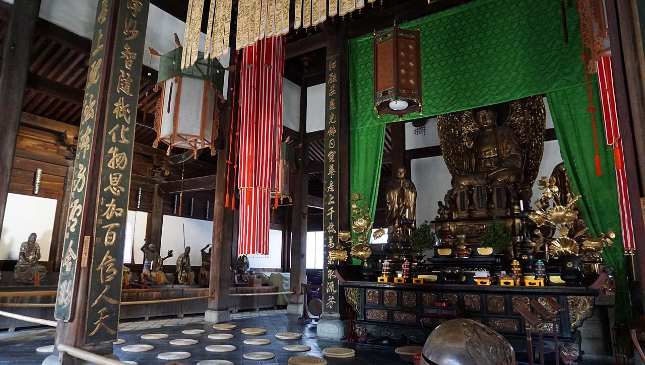 萬福寺 釈迦如来坐像