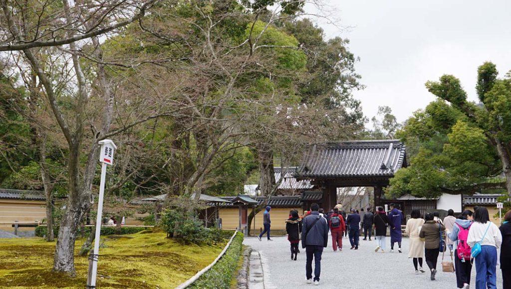金閣寺総門