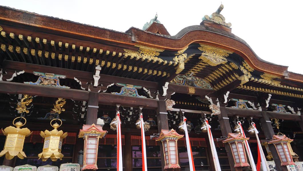 北野天満宮 拝殿