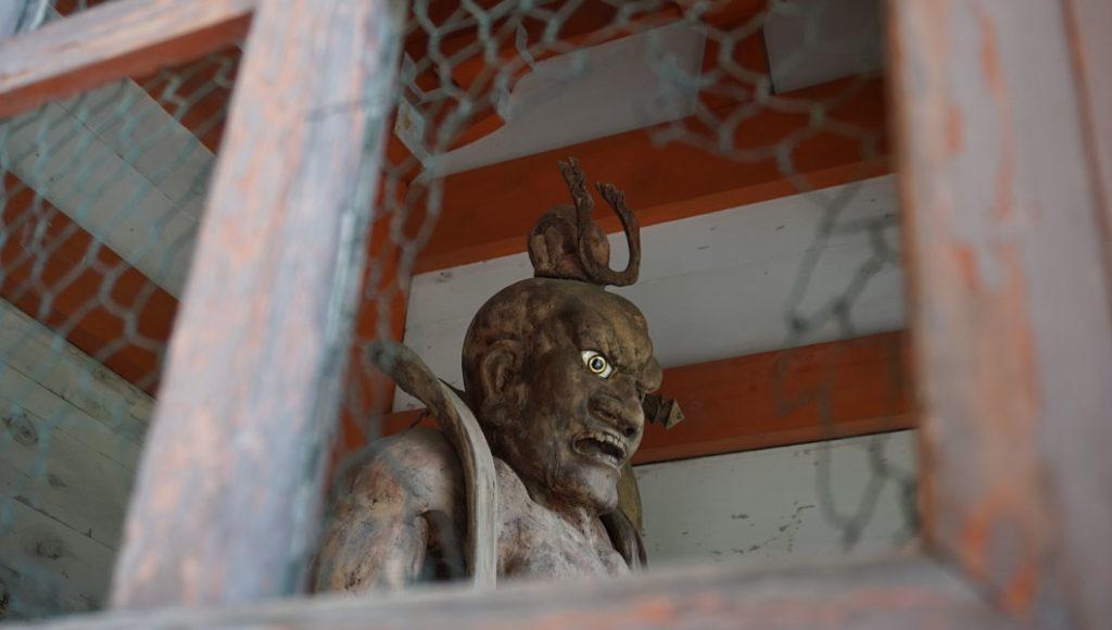 鞍馬寺 仁王像