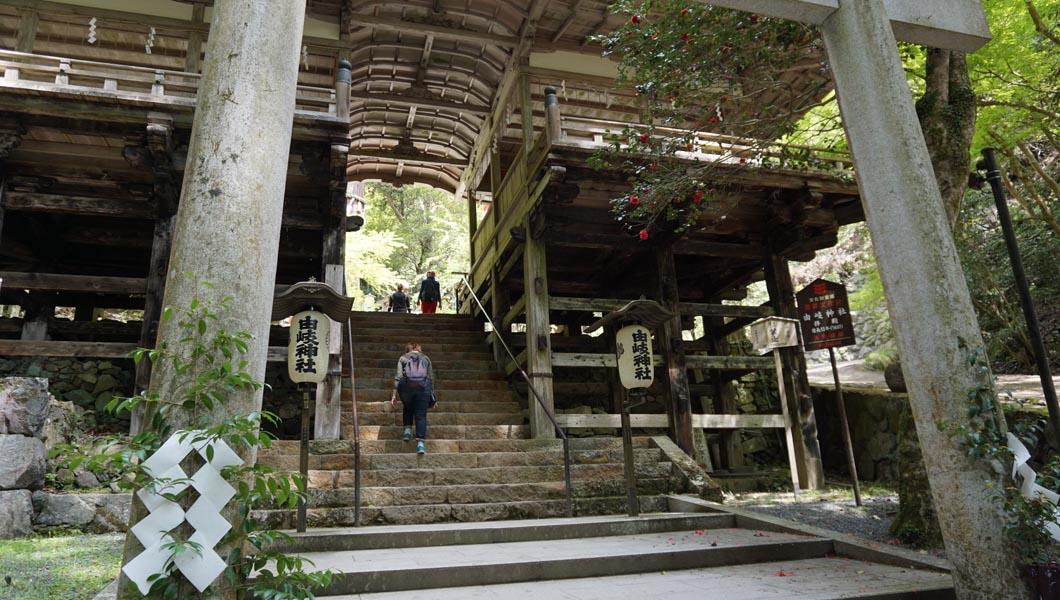 由岐神社 拝殿