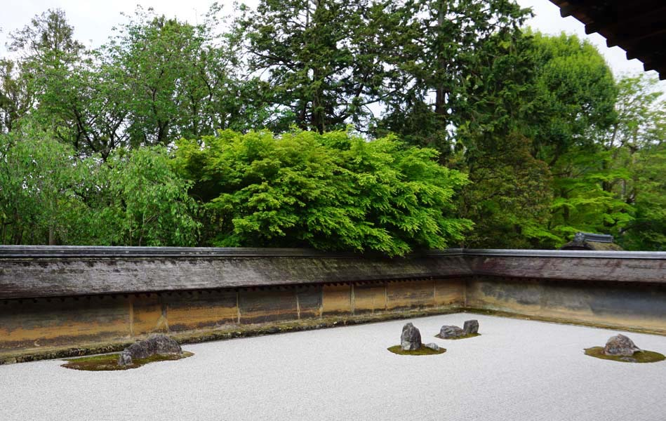 龍安寺 油土塀