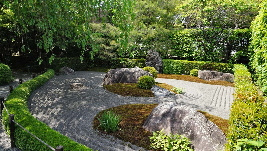 陰陽の庭「陰の庭」