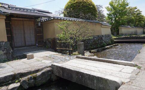 上賀茂社家町と明神川