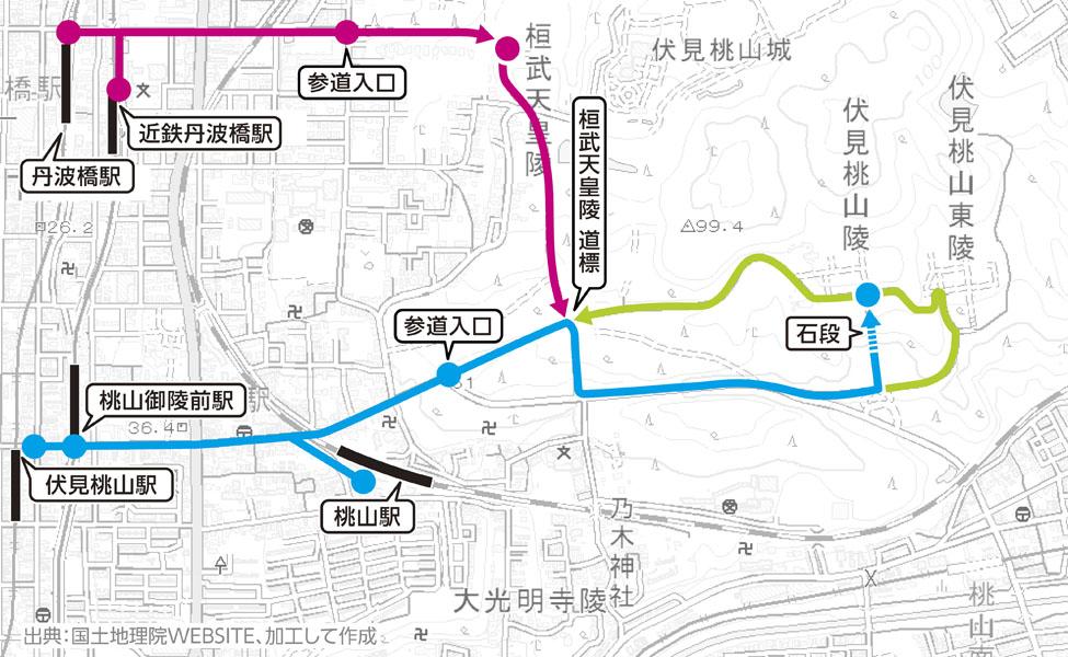 桓武天皇陵 MAP01