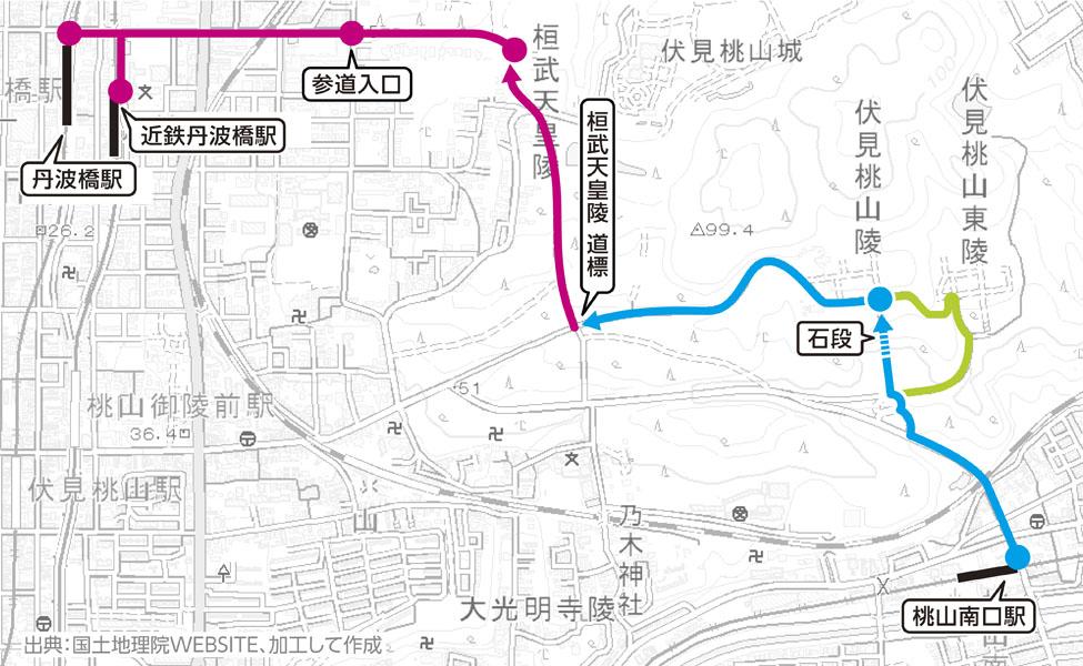 桓武天皇陵 MAP02