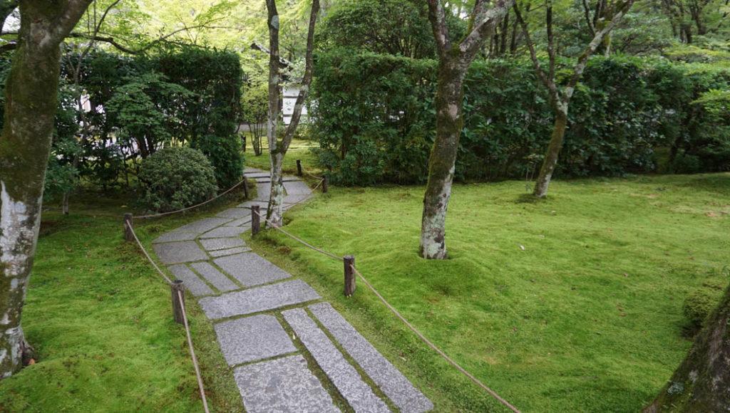 苔の庭入口