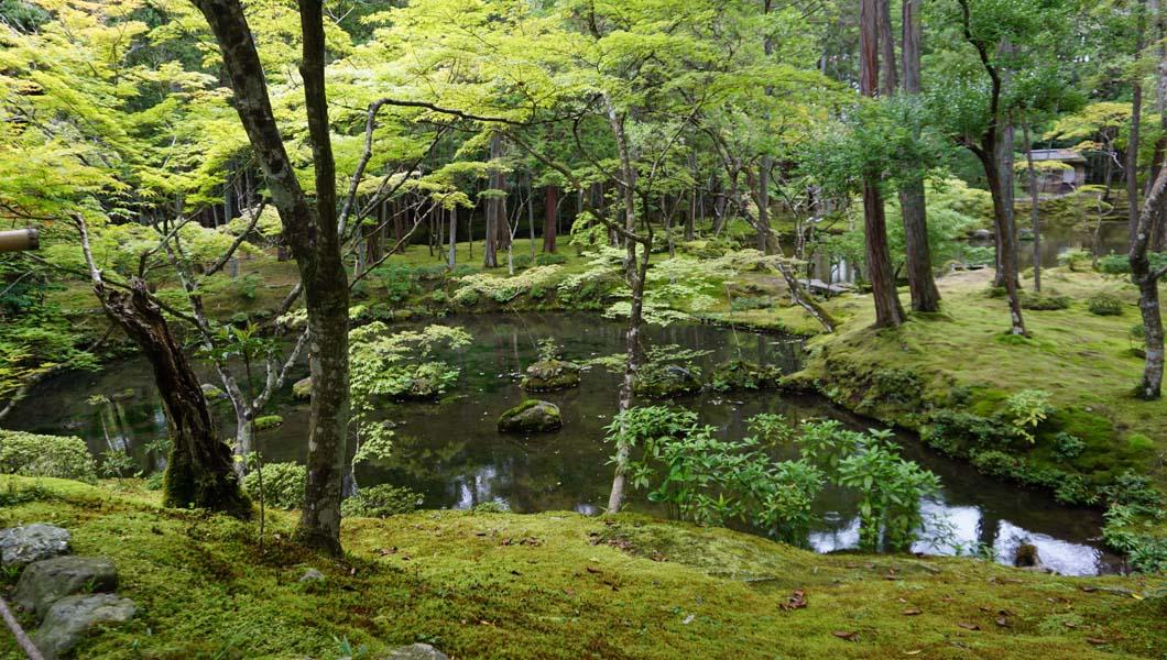 西芳寺 最初の池2