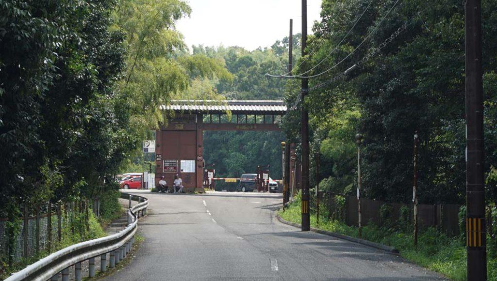 伏見桃山城 入口