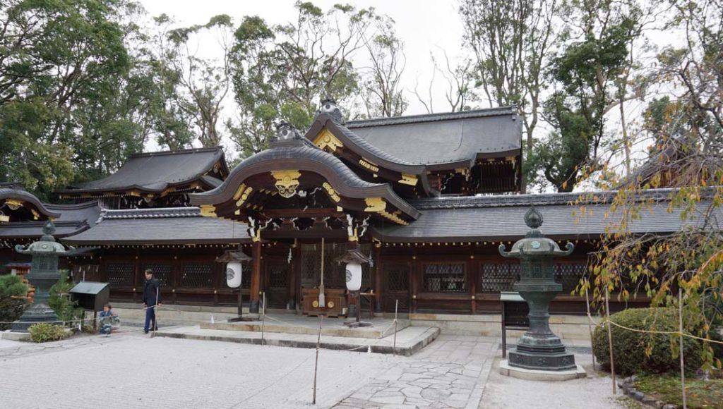 今宮神社 本殿