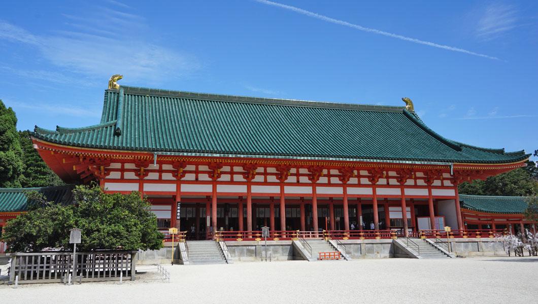 平安神宮 大極殿
