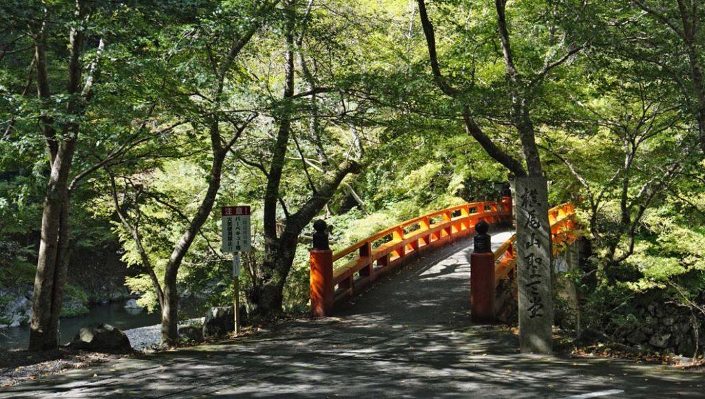 西明寺への橋
