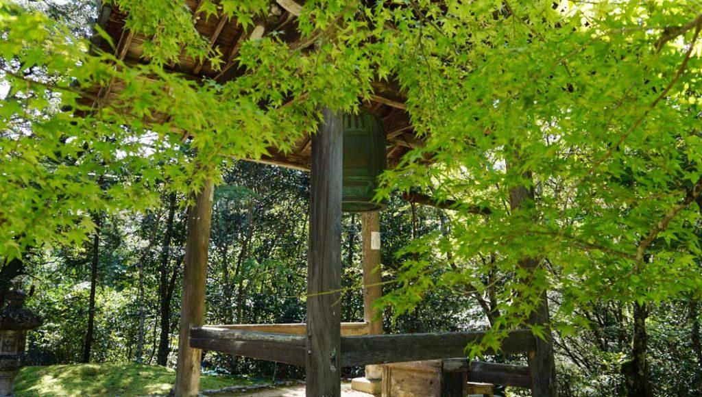 西明寺の鐘楼