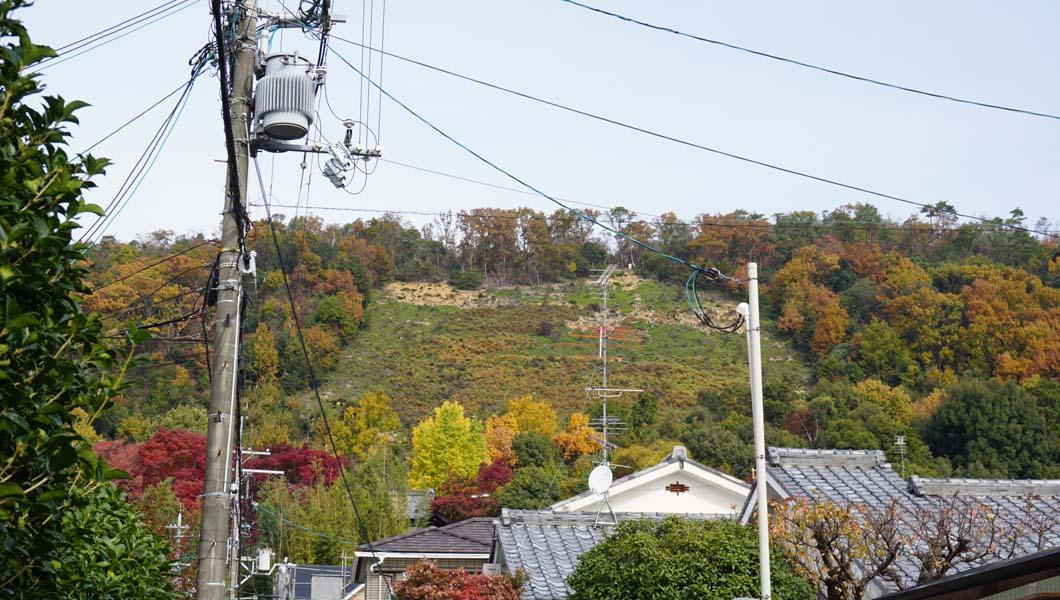 松ヶ崎 妙法の山
