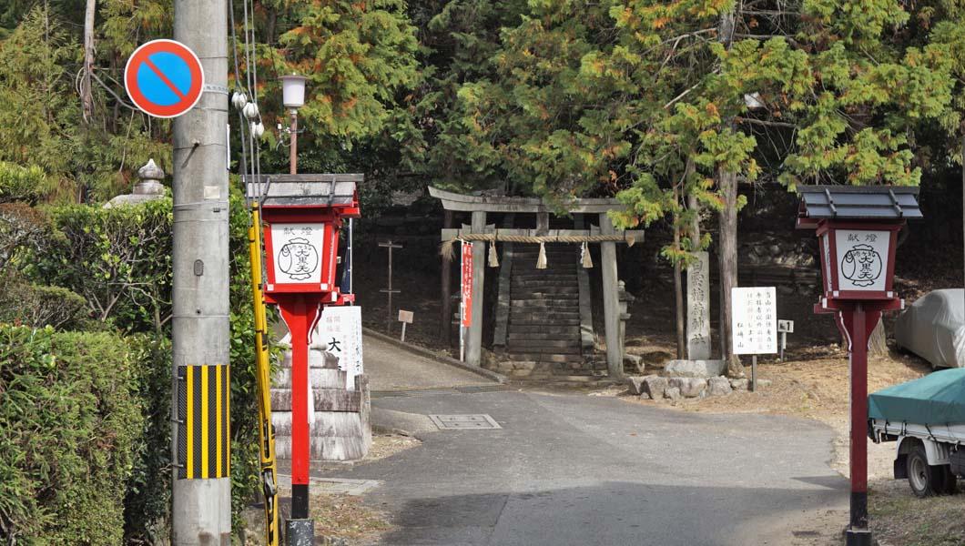 松ヶ崎大黒天 表参道入口