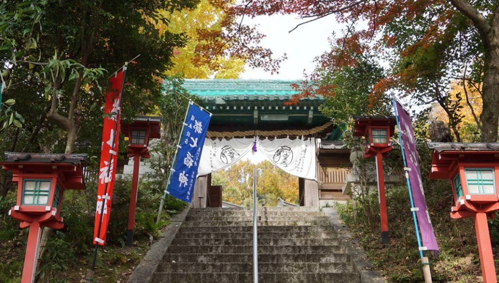 松ヶ崎大黒天 山門