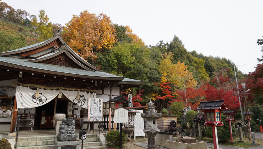 松ヶ崎大黒天の紅葉