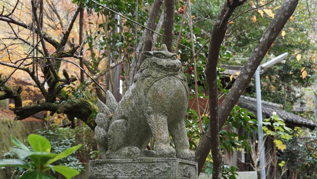 大豊神社 狛犬