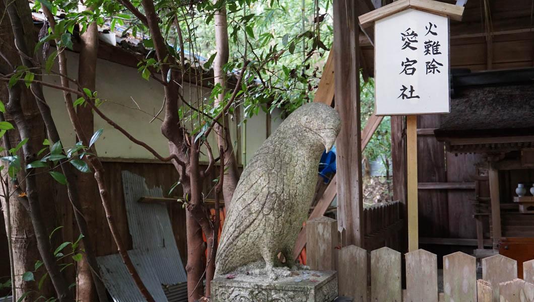 大豊神社 狛鳶