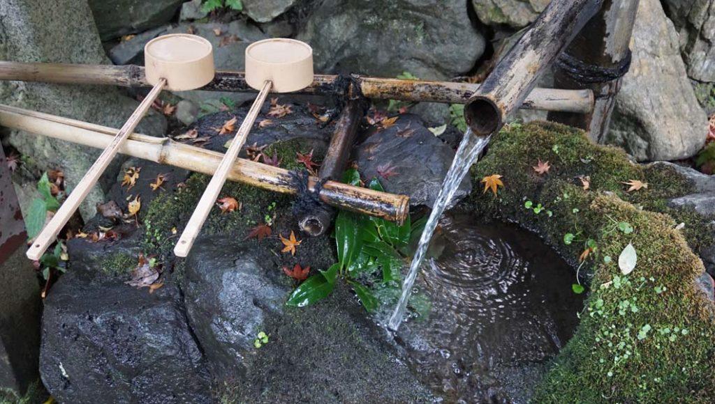 椿ヶ峰の御神水