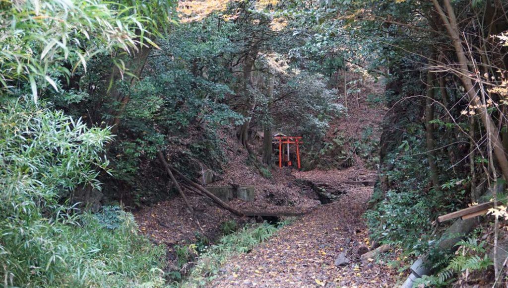 熊野若王子神社 滝