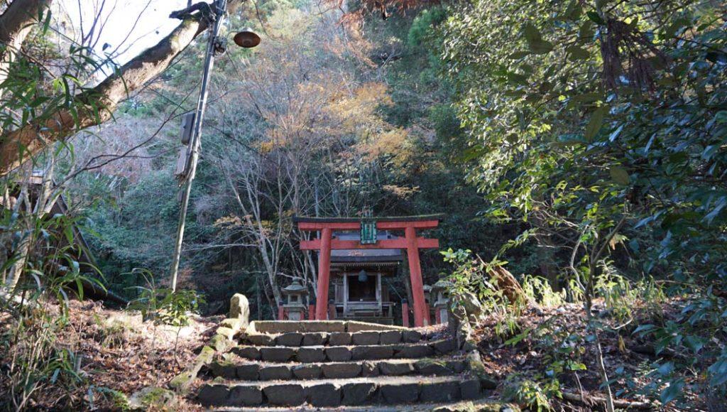熊野若王子神社 滝 神社