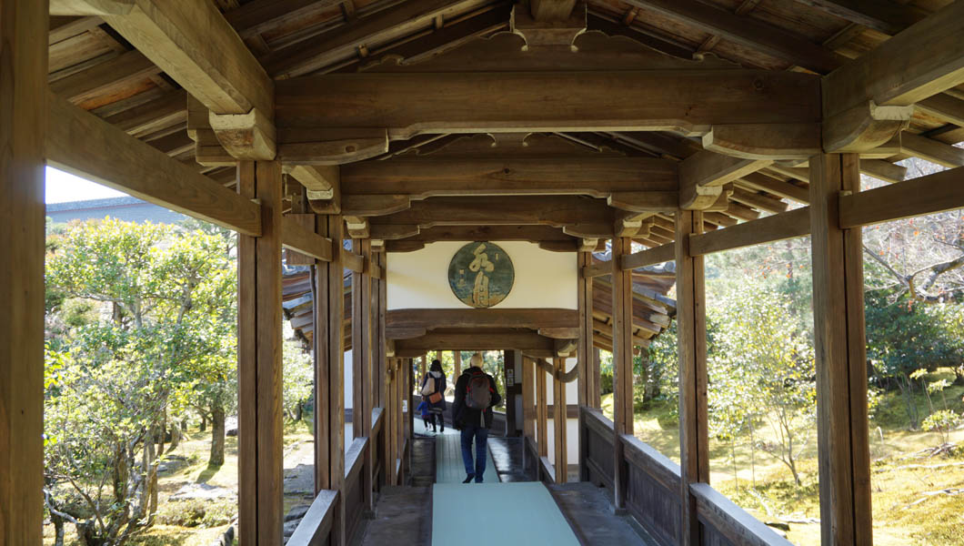 天龍寺 渡り廊下