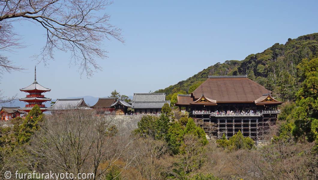 清水寺 遠景