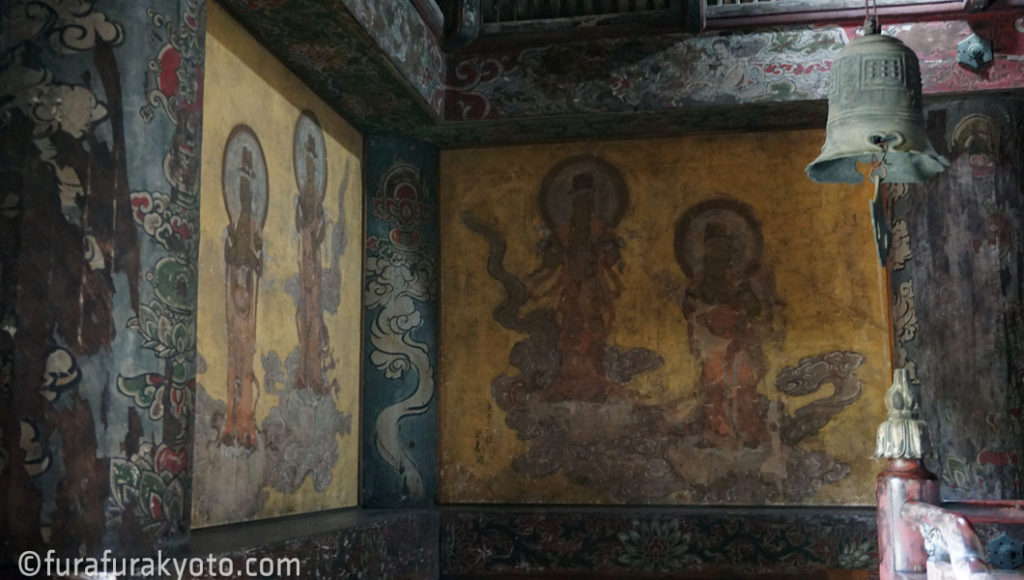 法観寺 [八坂の塔] 壁画