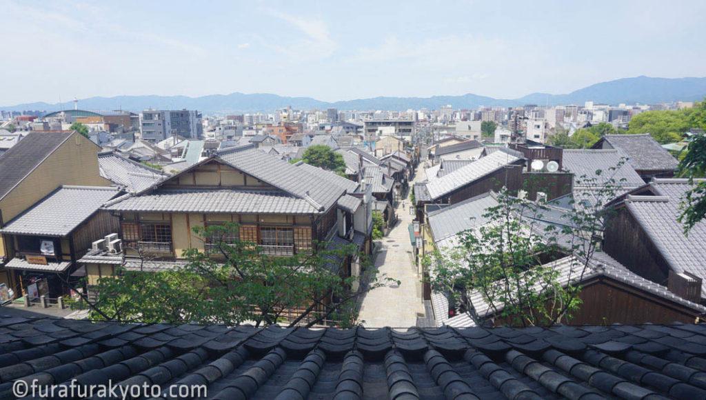 法観寺 [八坂の塔] 2層目からの眺め