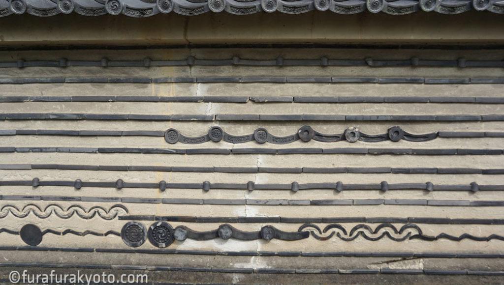 大徳寺 塀
