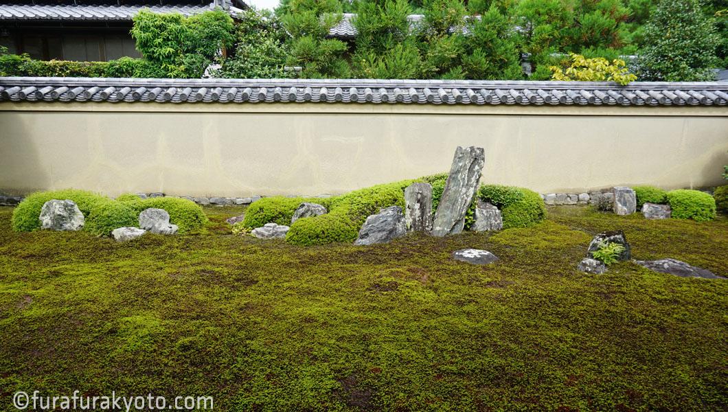 龍源院 苔の庭