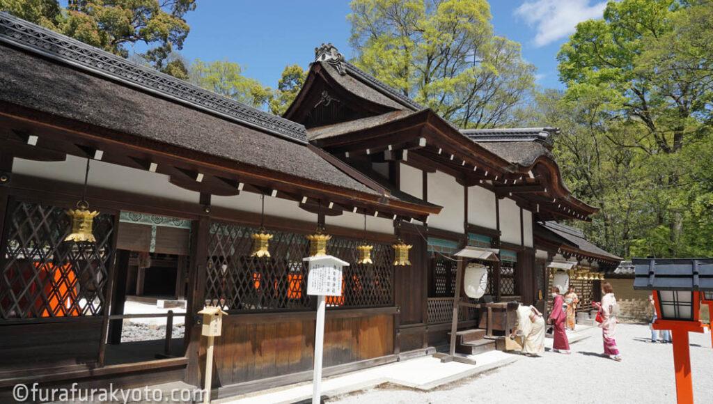 河合神社 拝殿