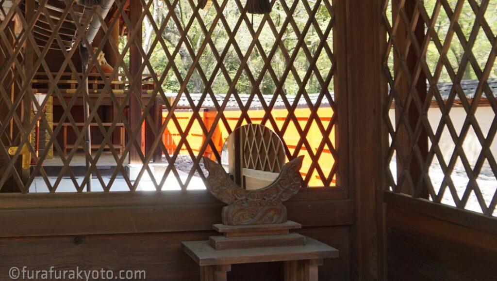 河合神社 鏡