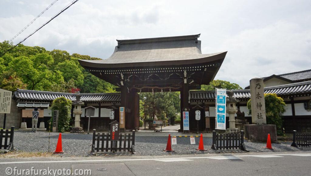 乃木神社 神門