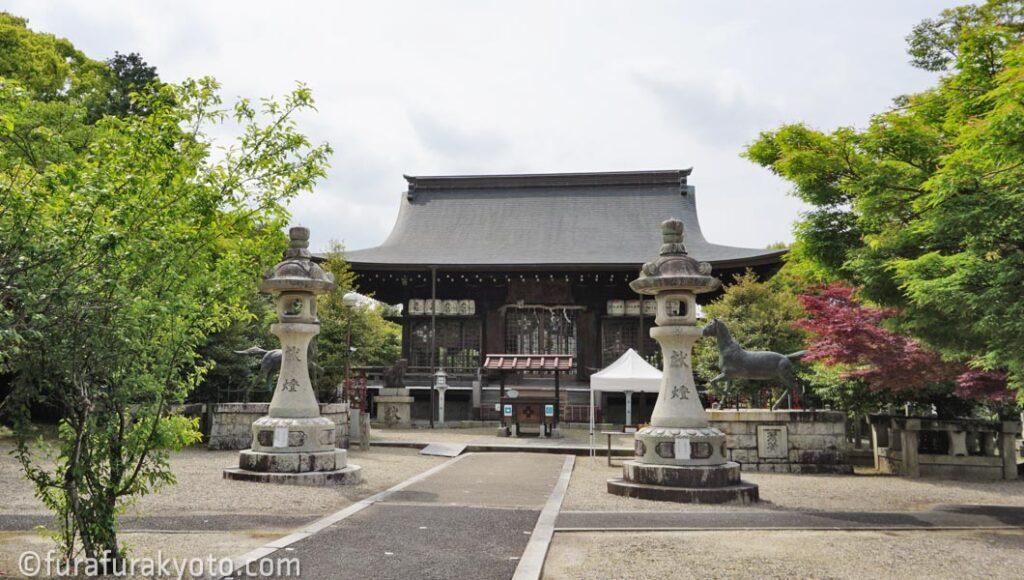 乃木神社 拝殿
