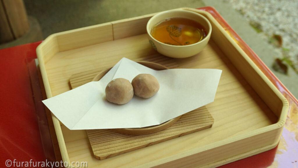 下鴨神社 申餅