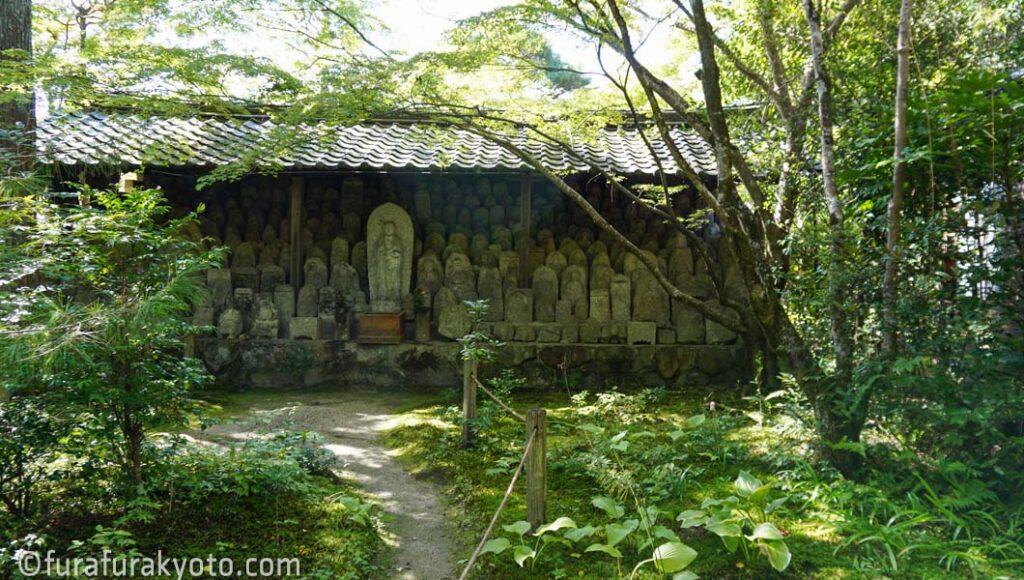 洛北蓮華寺 石像群